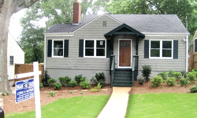 Home renovations before after articles atlanta home improvement - Home exteriors before and after ...