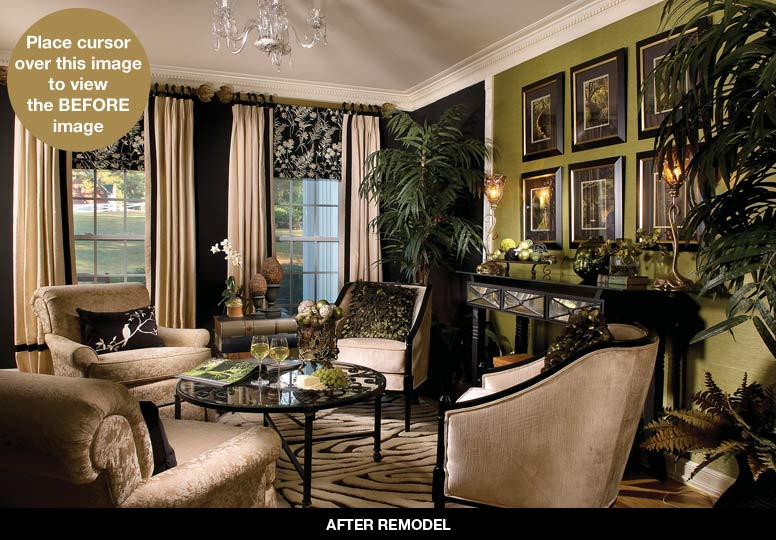Interiors By Decorating Den Home Design Ideas And Pictures & Decorating Den Living Rooms - Living Room Ideas