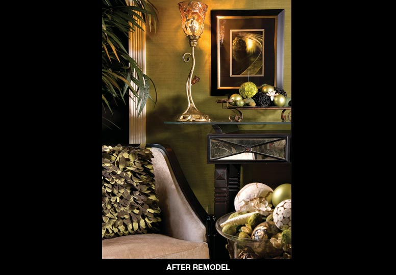 Home renovations before after articles atlanta home for Decorating den interiors