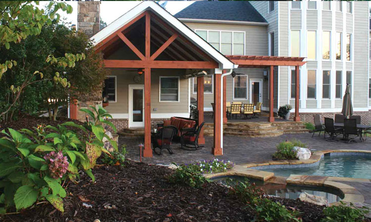 Home renovations before after articles atlanta home for Garden decking before and after