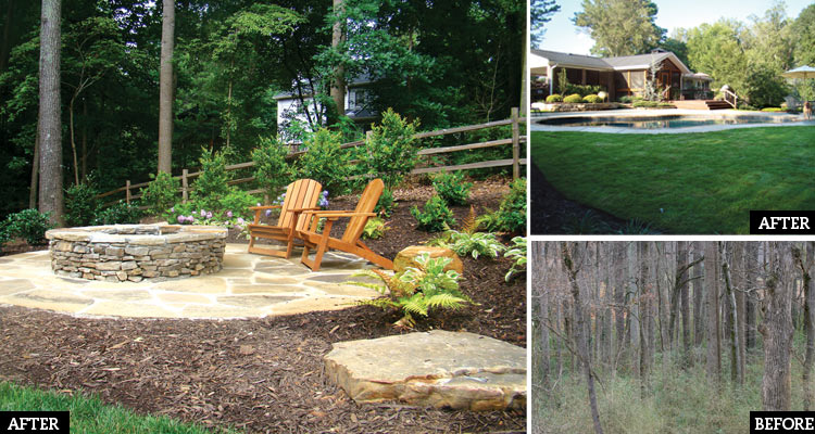 Backyard Hill Makeover : Readers reclaim their yards with outdoorliving space overhauls