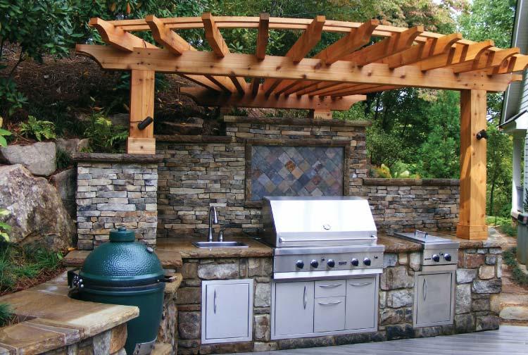 Outdoor Kitchens Atlanta Home Improvement