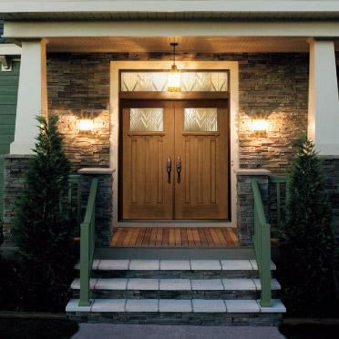 Craftsman double front door - Windows And Doors Atlanta Home Improvement