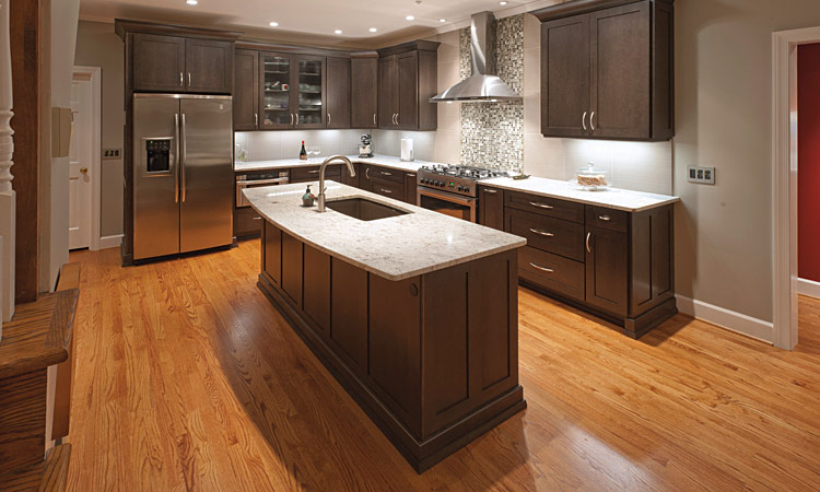 Kitchen Island Knee Wall home renovations before & after articles | atlanta home improvement