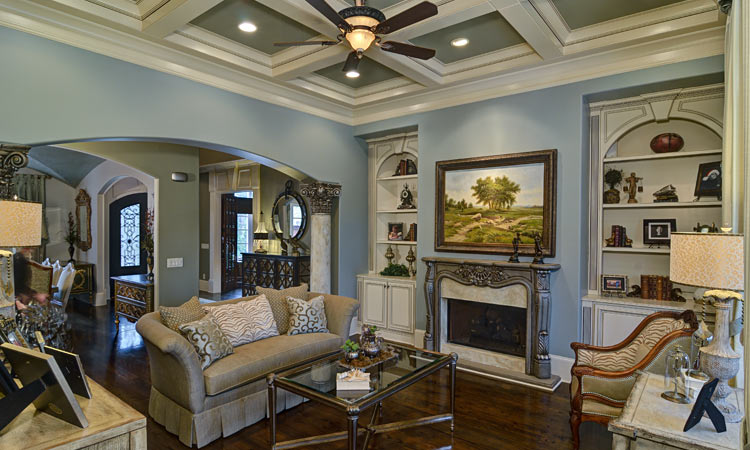 Home renovations before after articles atlanta home for Family room renovations