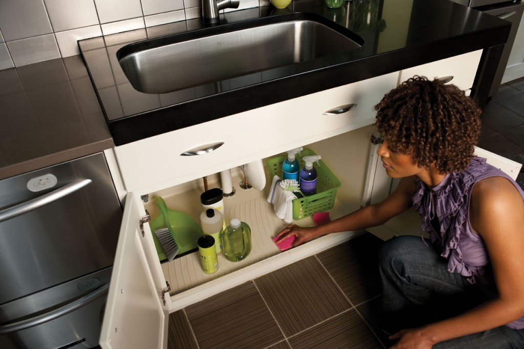 Protect Cabinet Base Under Sink from Water Damage | Atlanta Home ...
