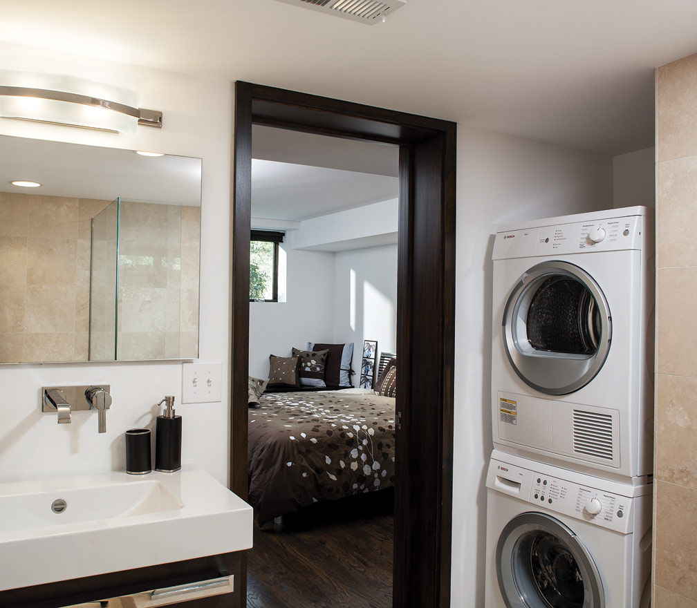 Bathroom Designs with Washer and Dryer