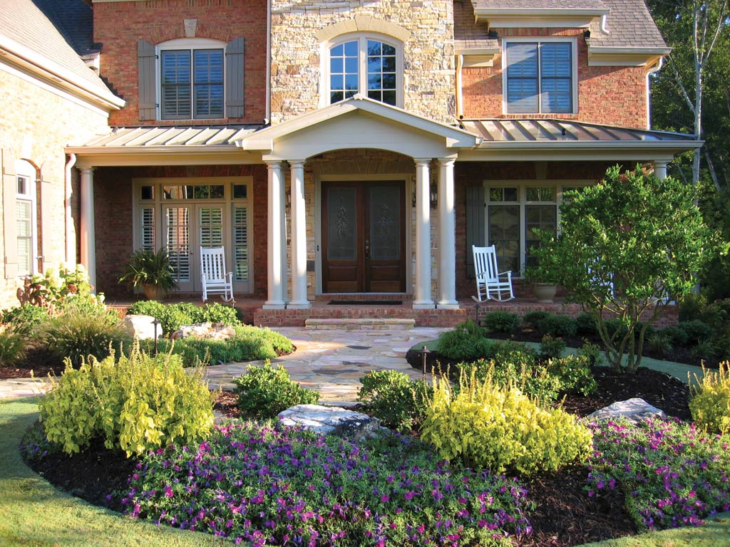 Low Maintenance Landscape Ideas For Front Of House