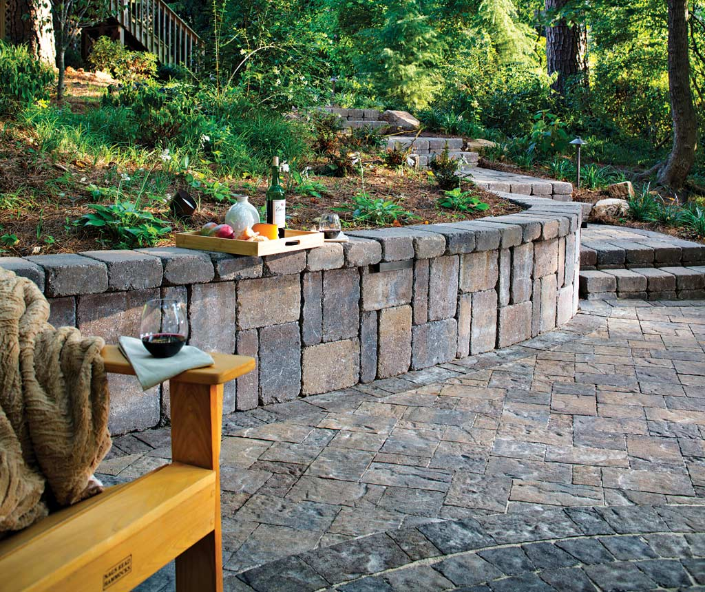 Retaining Walls Expand Landscaping Options Atlanta Home