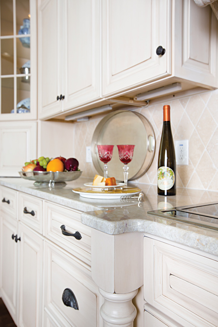 This Month 39 S Home Project European Inspired Kitchen Atlanta Home Impr