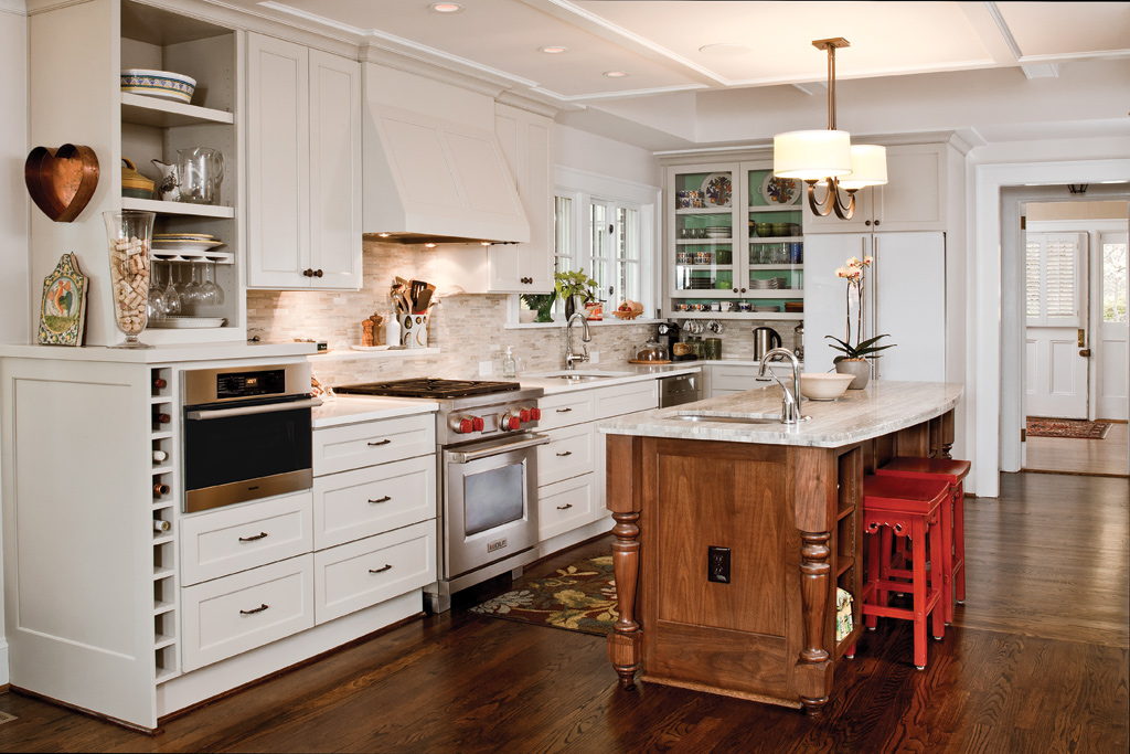 Cottage Style Kitchen Cabinets Hawthorne Maple Painted Full Overlay