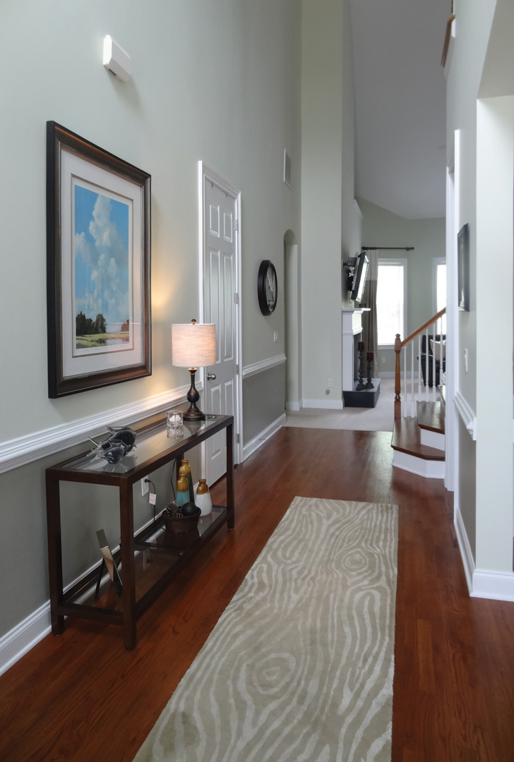 Foyer And Entryways Pub : Stylish staircases and inviting entryways atlanta home