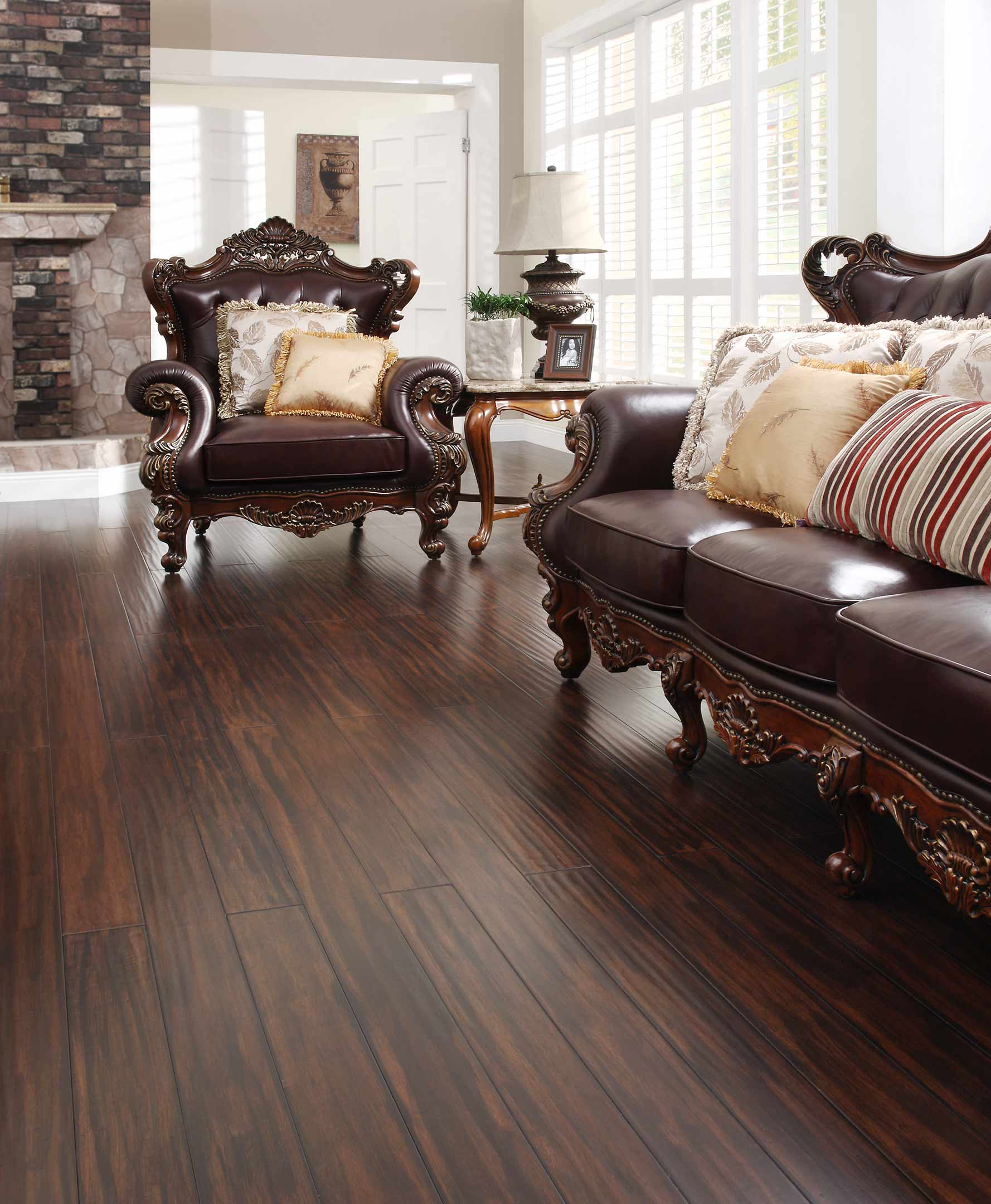 bamboo floor tile