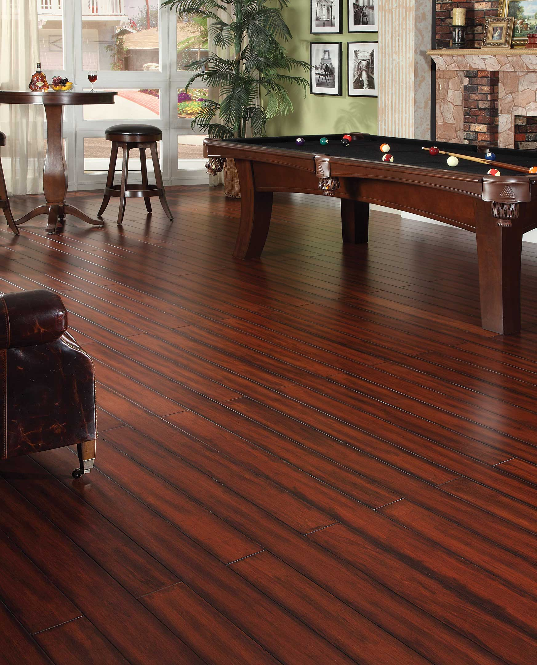 Superior Antique Amber Bamboo Flooring