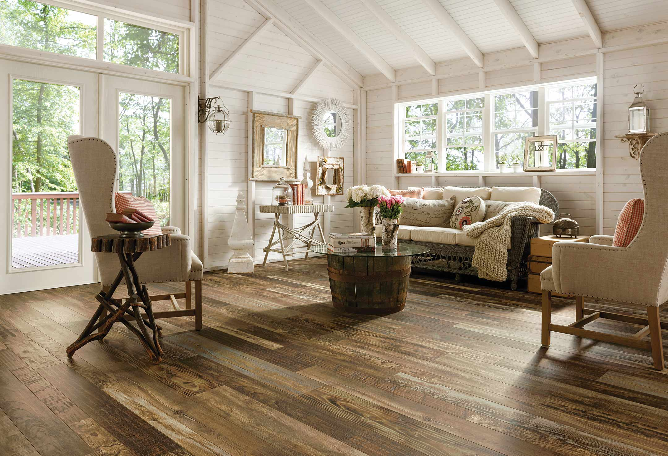 Flooring hardwood bamboo tile linoleum atlanta home improvement flooring laminate architectural remnants woodland reclaim dailygadgetfo Gallery