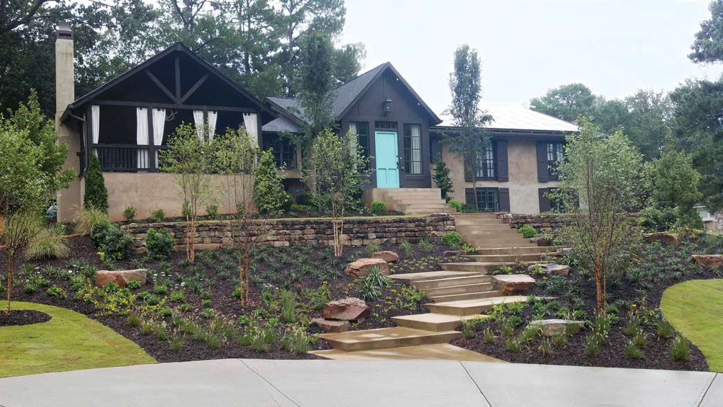 Landscape design and ideas for the fall season atlanta for Home garden design atlanta