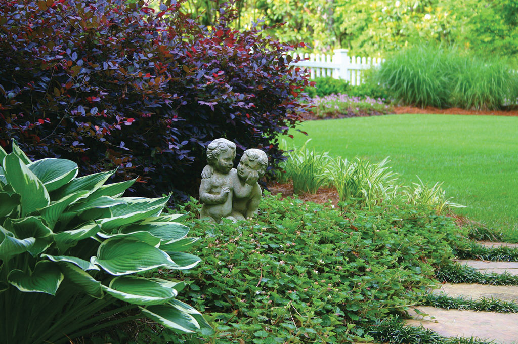Low maintenance landscaping tips atlanta home improvement for Low water landscaping plants