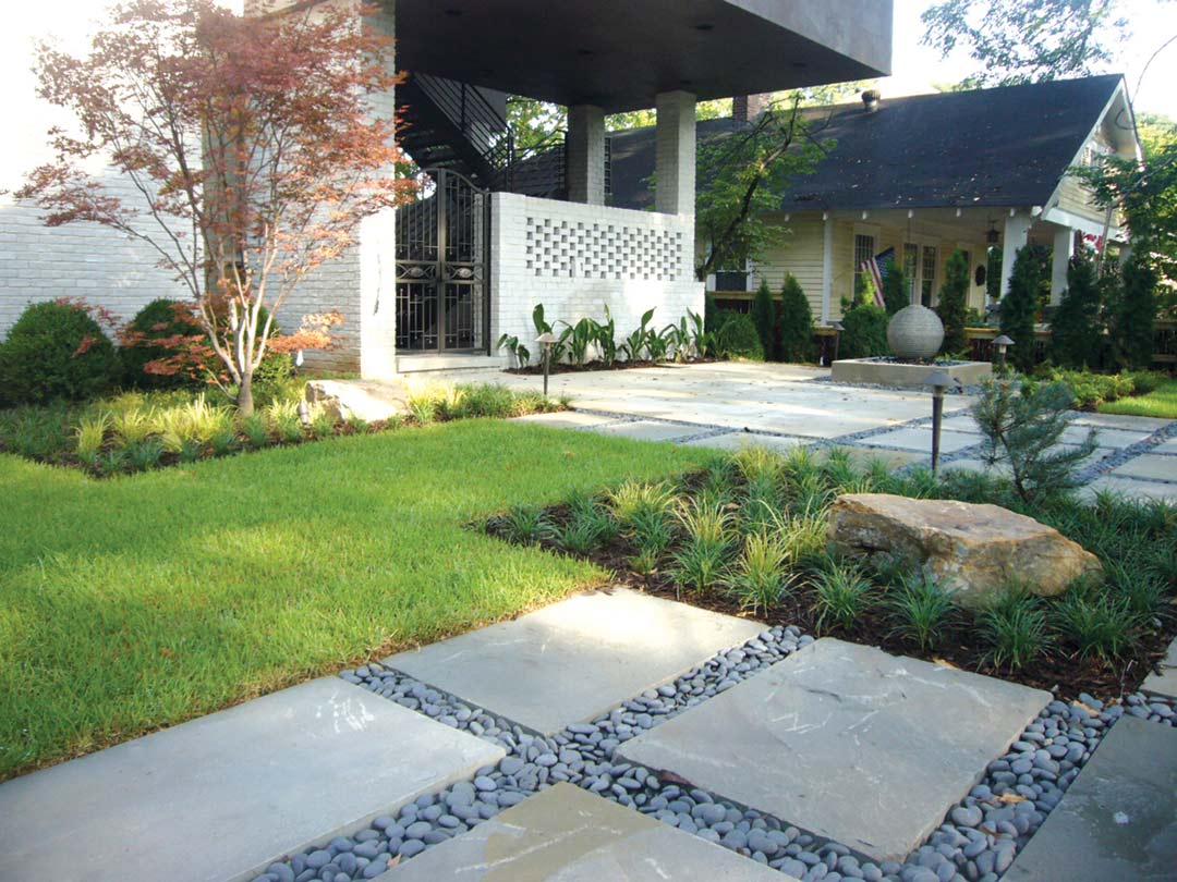 Modern Atlanta Landscape Design Atlanta Home Improvement