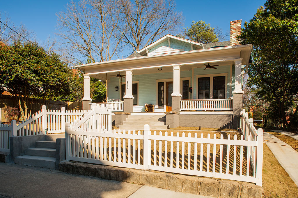 Decatur whole house renovation atlanta home improvement for Redesign front of house
