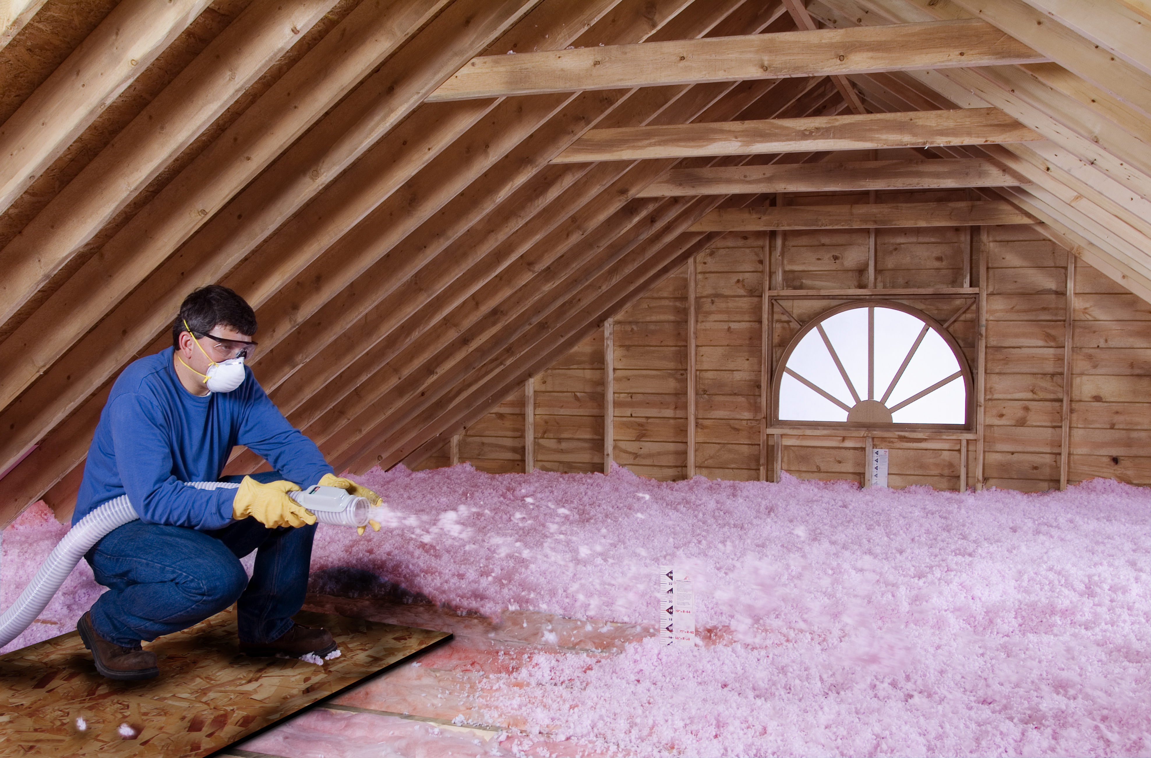 way image detached easy money to insulating and heating door a garage diy insulation save