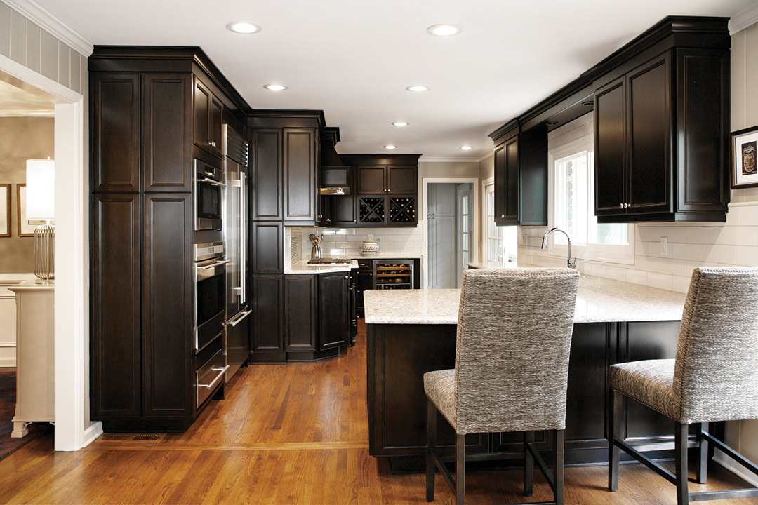 View Of Expanded Kitchen With A More Spacious Cooking Zone