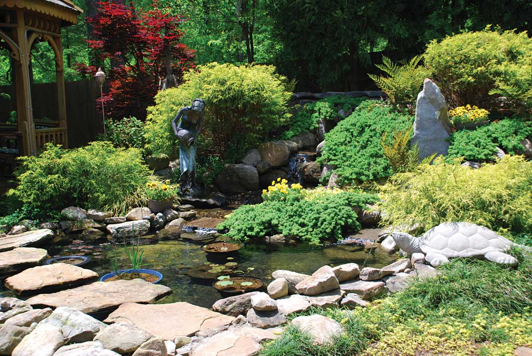 What you need to know before building a pond atlanta for Koi pond shapes