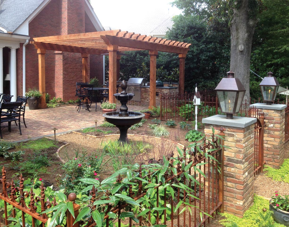 What 39 s your landscaping budget atlanta home improvement for Outdoor patio landscaping