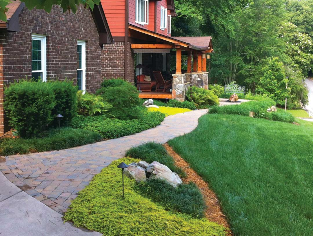garden design with grass and ground cover atlanta u what to choose for your home with - Ground Cover Ideas