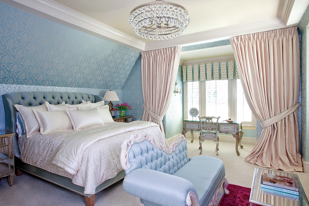 Master suites the ultimate retreat atlanta home improvement Chandelier in master bedroom
