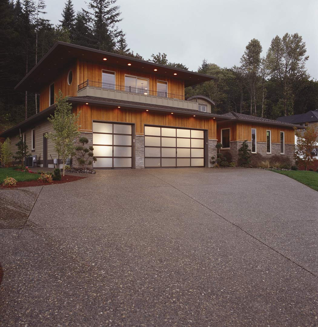 Modern Design Garage Doors