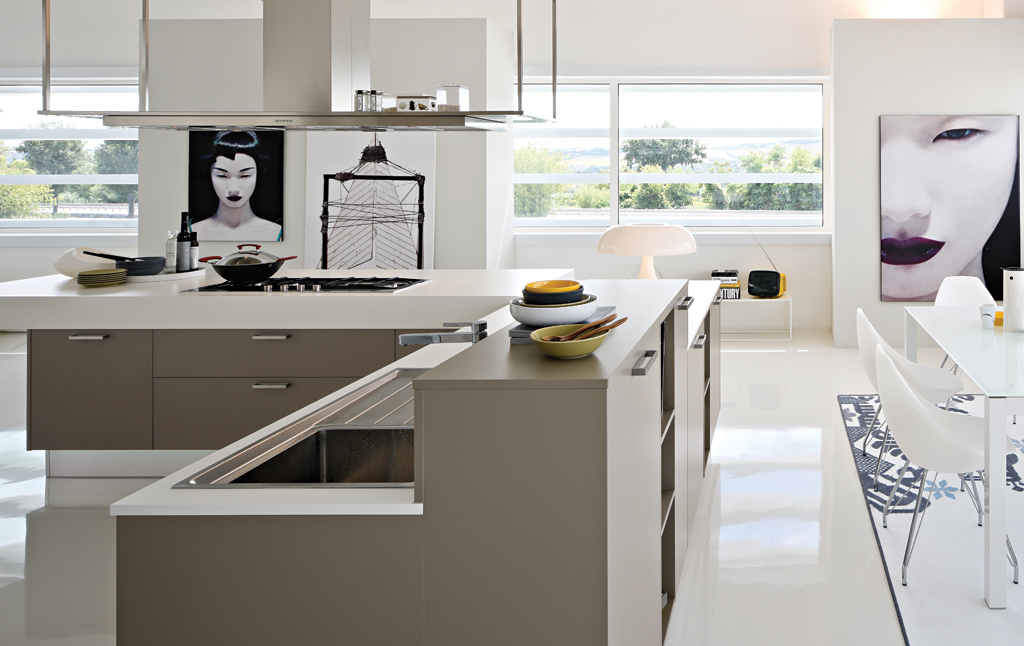 2013 kitchen cabinets countertops materials styles - Barras de cocina ...