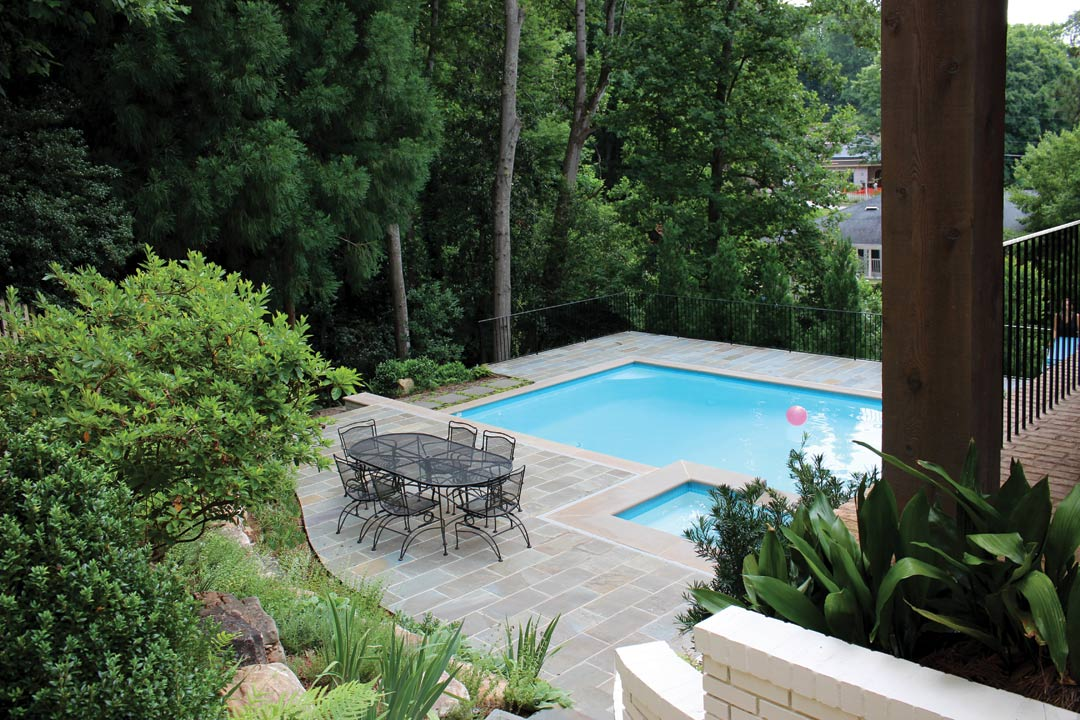 What 39 s your landscaping budget atlanta home improvement for Outdoor entertainment area on a budget