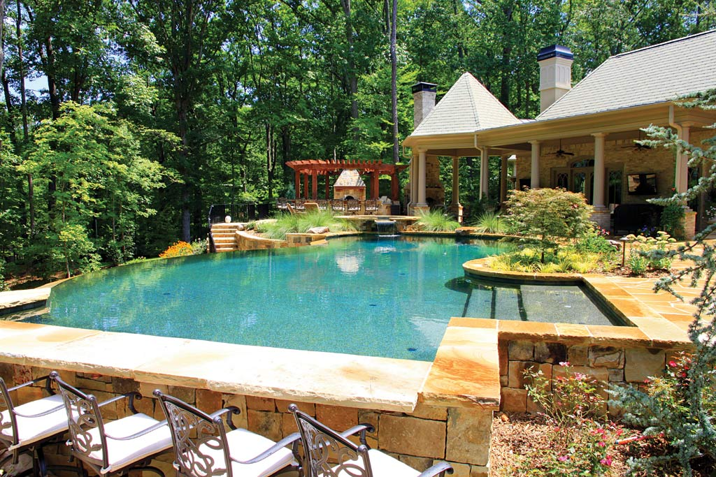 Tags: Backyard Designs With Outdoor Kitchen, Backyard Designs With Pool And Outdoor  Kitchen, Small Backyard With Pool And Outdoor Kitchen