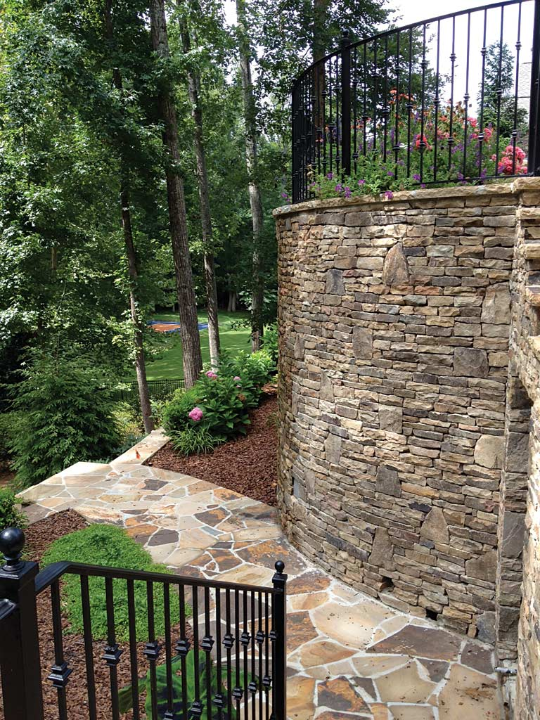Retaining walls expand landscaping options atlanta home for Garden landscape retaining walls