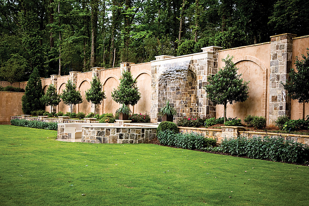 Designing Landscapes With Water amp Fire Elements Atlanta
