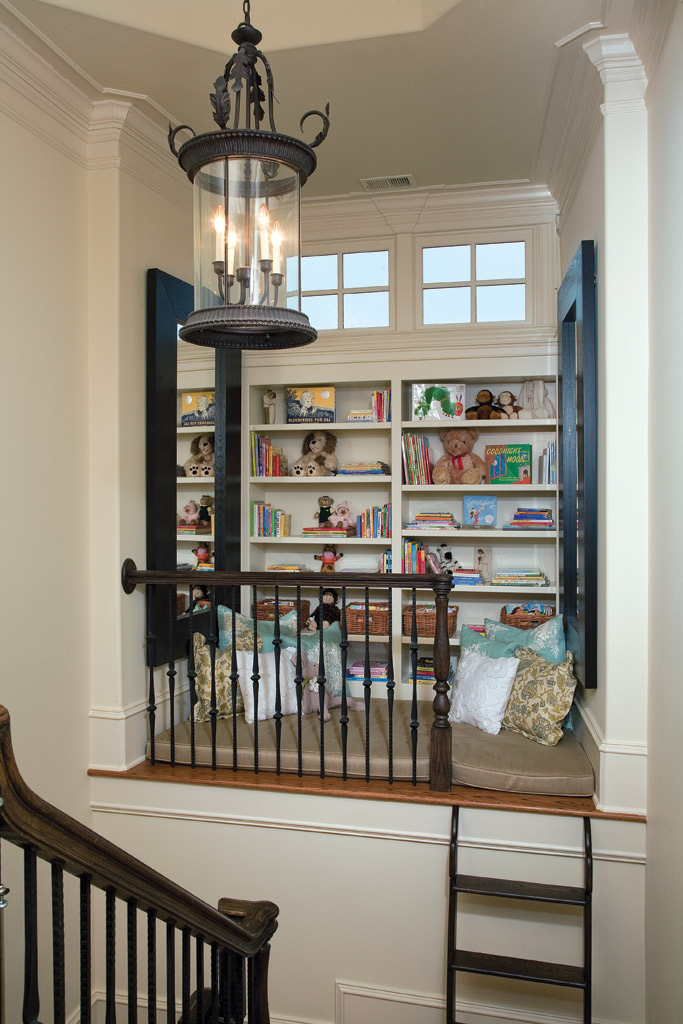 Stair Leads To Niche   Kids Area