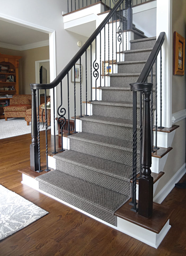 Stylish Staircases And Inviting Entryways Atlanta Home