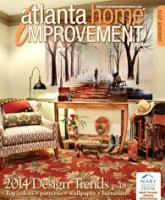Atlanta Home Improvement magazine January 2014 design trend cover