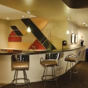 Basement design - kitchen & bar