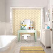 color trend, bathroom, flooring