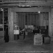 Before basement remodel
