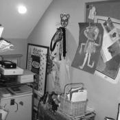 Interior remodel before photo