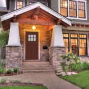 Lovely 2-storey craftsman style home with floor to ceiling windows