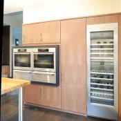 Double oven with refrigeration and wine storage