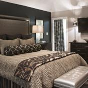 Warm and welcoming guest room