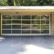 Full-view garage doors