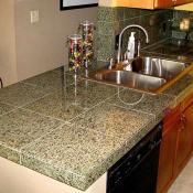 Granite/tile countertop