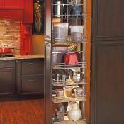 Kitchen with pull-out and other great options for optimal organiztion