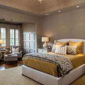 Master suite, lighting