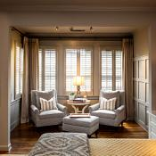 Master suite with reading nook